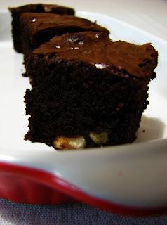 Brownies s lieskovými orieškami