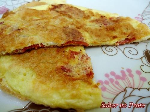 Omelete de Pepperoni