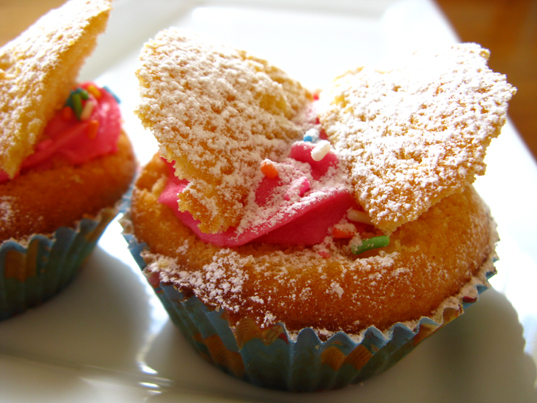 Kids' Cooking - Butterfly Cakes