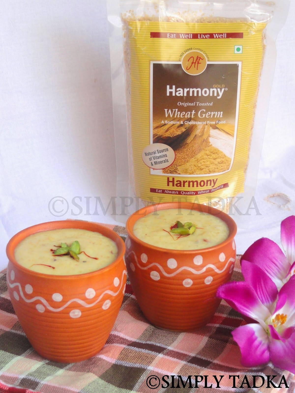 Wheat Germ Kheer | Wheat Germ Payasam- Eat Well Live Well