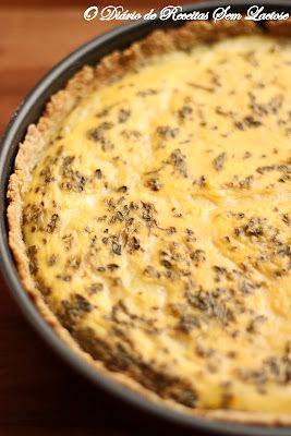 Torta de Aveia, Berinjela, Tomate Seco e Purê de Batatas