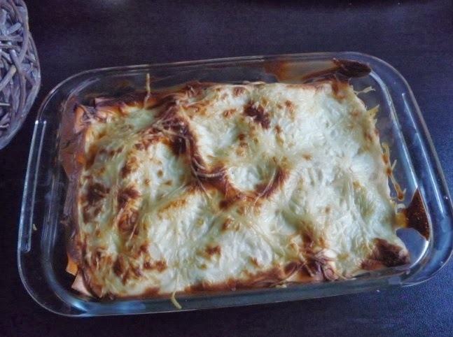 Lasagnes cèpes et boeuf, béchamel à la ricotta (au thermomix ou sans)