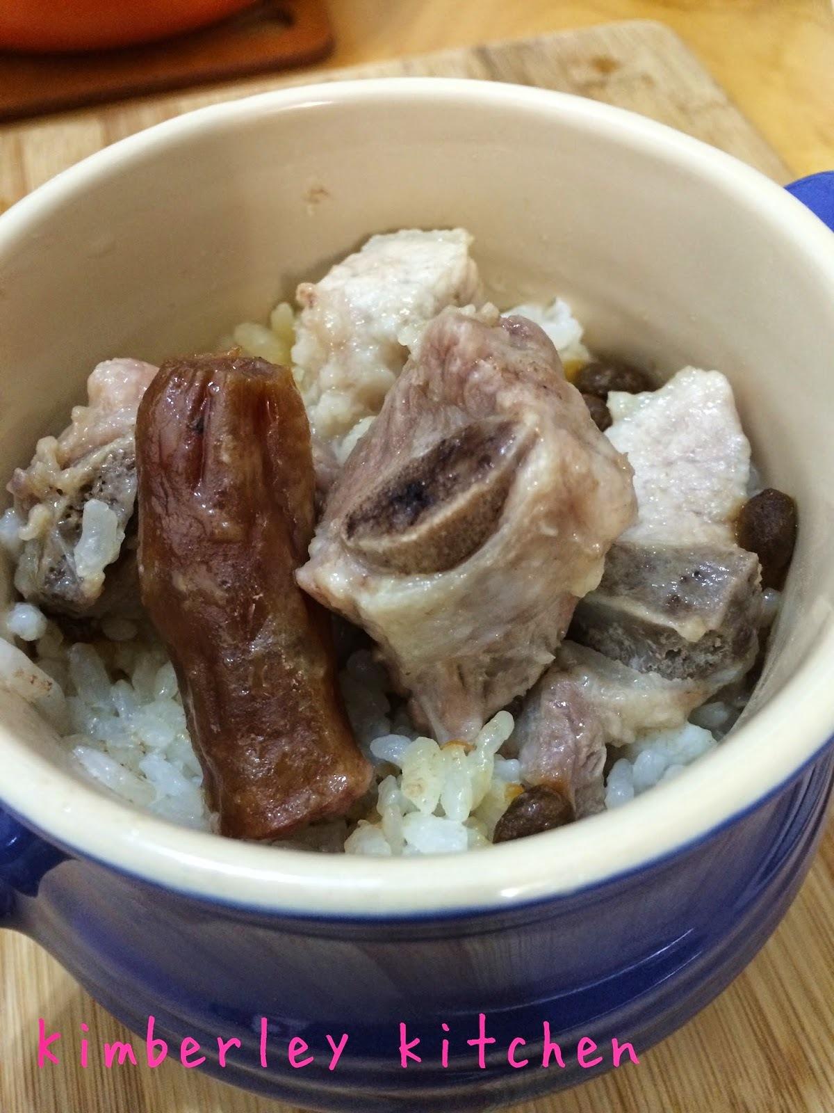 蒸飯 - 附排骨臘腸蒸飯做法