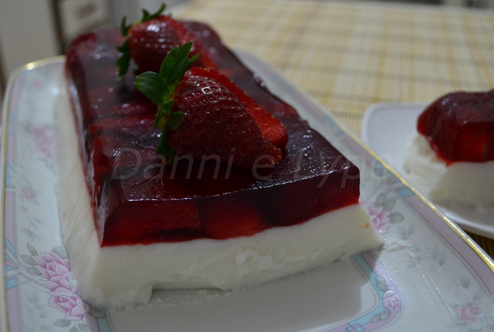 Terrine de Morango (versão diet)