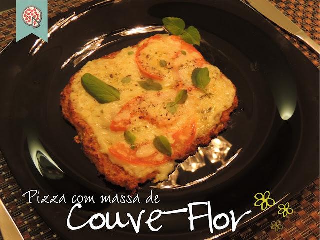 Pizza com massa de Couve-Flor!
