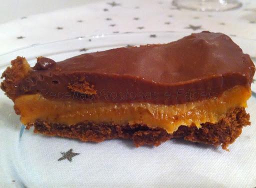 Torta Biscoito, Caramelo, Chocolate