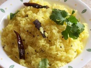 Lemon Rice | Chitranna | Nimmakaya Pulihora andhra style