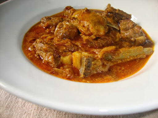 white mutton korma