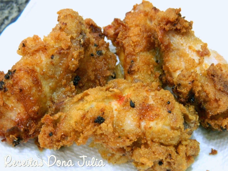 coxinha de frango frita com maionese