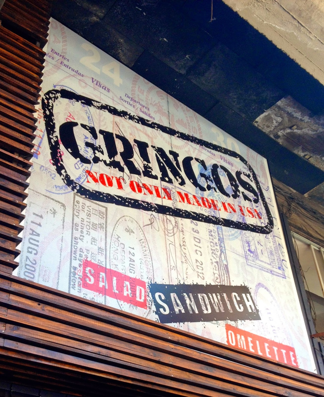 Recomiendo: Gringos – Not only made in USA