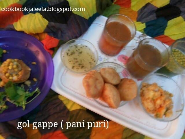 Wheat Flour Gol Gappe (Homemade Pani Puri) - SNC - 5