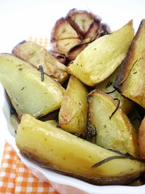 Batatas Rústicas com Ervas