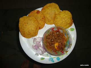 kachori with sbji in hindi