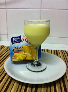 sobremesa com iogurte e suco clight