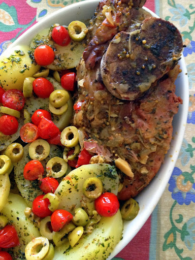 como fazer paleta suina frita ou cozida