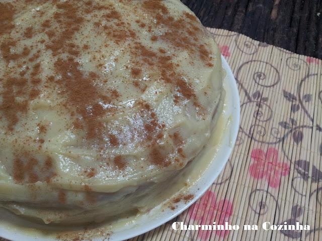 recheio de bolo com leite condensado e manteiga e creme de leite