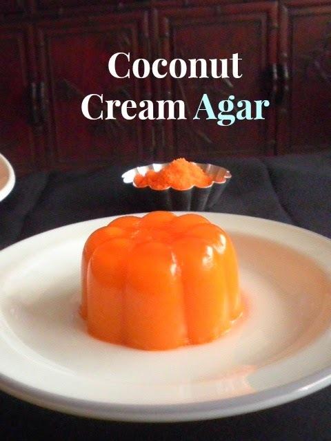 COCONUT CREAM AGAR / AGAR2 SANTAN
