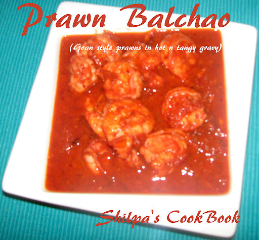 Prawn Balchao (A Traditional Goan Dish)