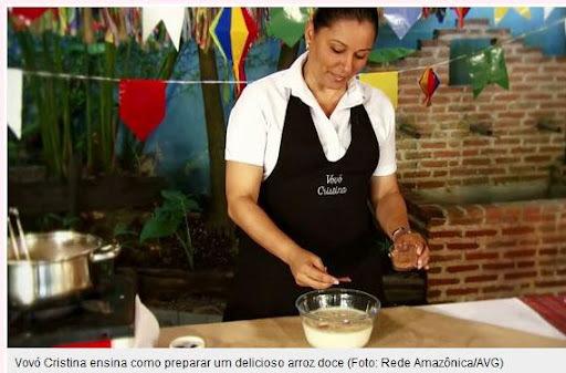 ARROZ DOCE NAS FESTAS JUNINAS DA TV GLOBO