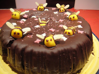 Nigella's Honey Chocolate Cake