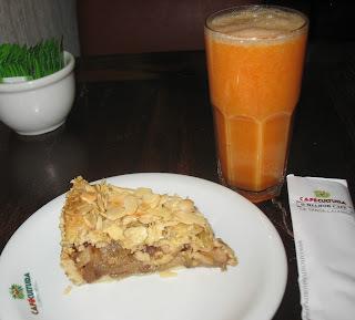 Café Cultura: lanche da tarde numa sexta ensolarada!