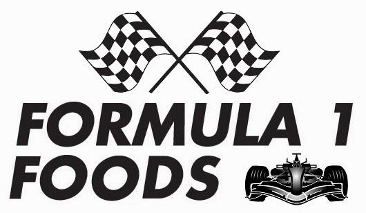 New blog challenge - Formula 1 Foods