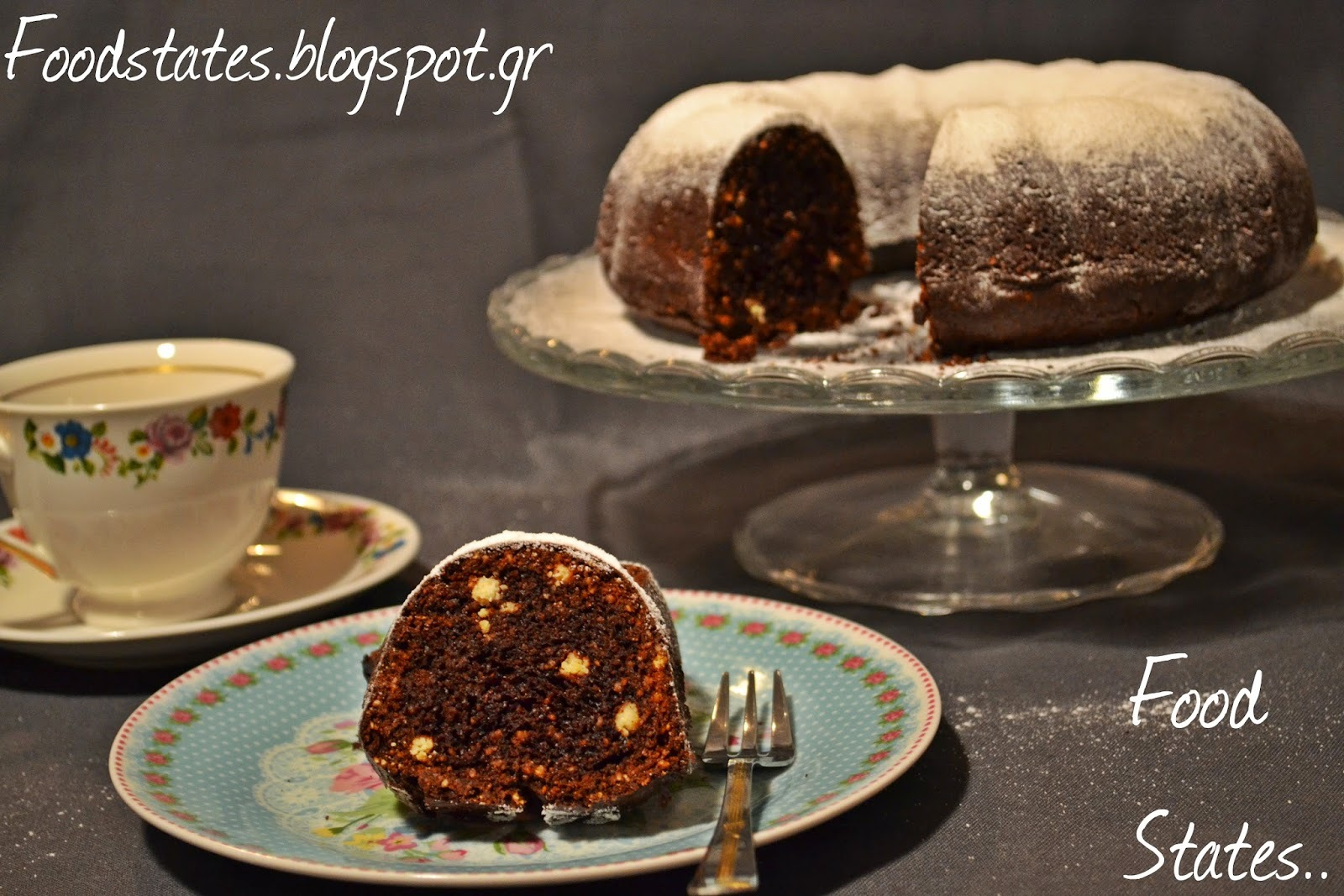 Σοκολατένιο κέικ αμυγδάλου (χωρίς αυγά)