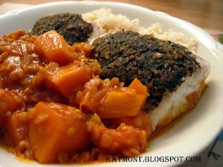 Peixe com crosta de azeitona - Poisson en croûte de tapenade