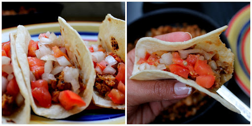 Be my guest Dixya: ~ Soy Tacos - Vegan Mexican treat