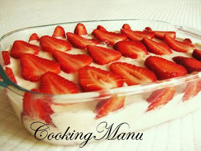 Tiramisù alla Fragola (Strawberry Tiramisù)