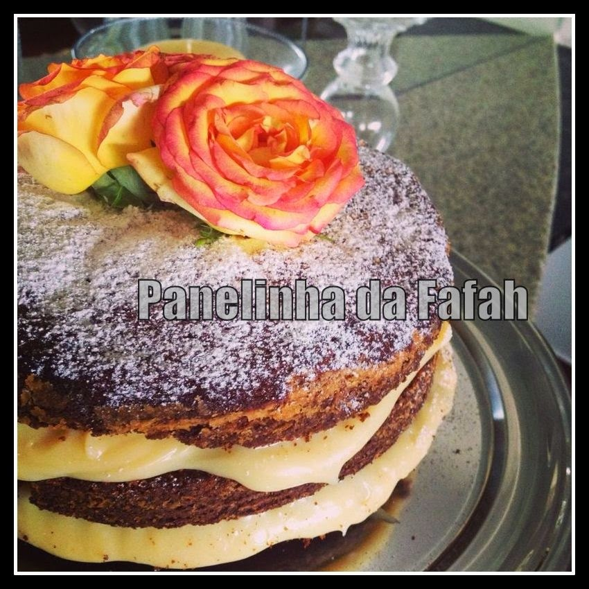 Naked Cake - Fácil de preparar
