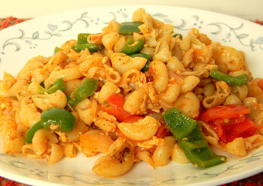 Stir Fried Macaroni