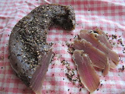 Filet de porc séché