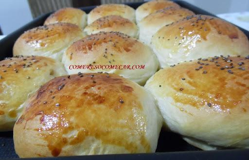 de pão de leite da escola de culinaria
