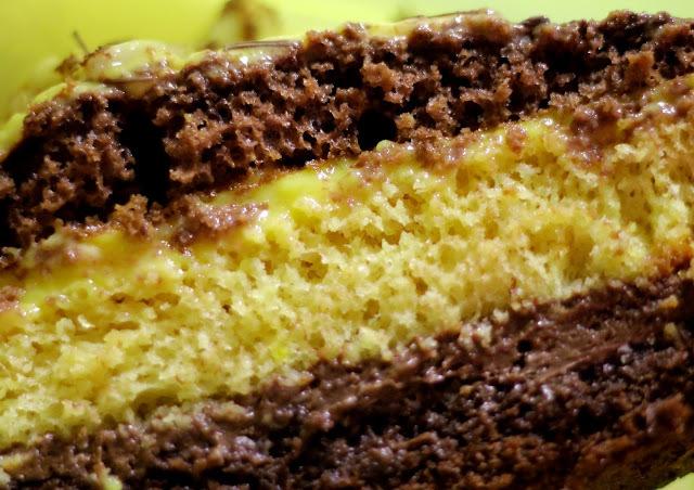 Receta fácil y rápida torta de Chocolate y Mango