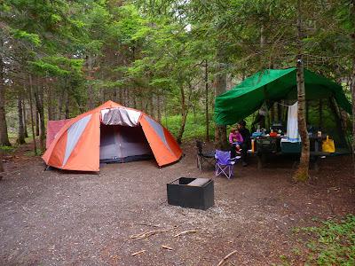 Bouffe de camping