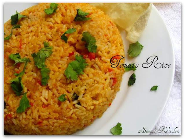 Thakkali sadam / Tomato Rice