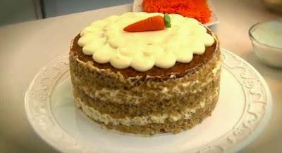 Faça um delicioso Carret Cake