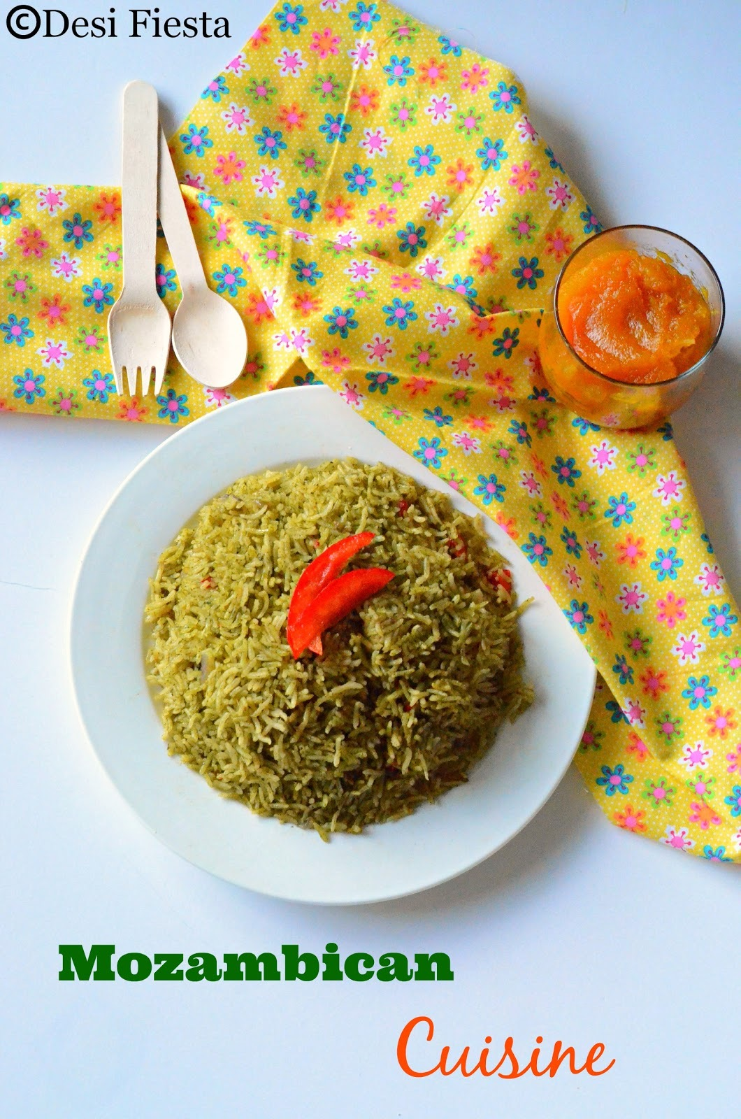 Arroz Verde Recipe ( Green rice) | Doce de Abóbora com Côco ( Pumpkin Jam With Coconut)  -Mozambique/Mozambican Cuisine