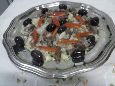 Salada de Carne (Músculo) + Foto