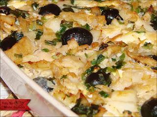 arroz para acompanhar um prato de bacalhau