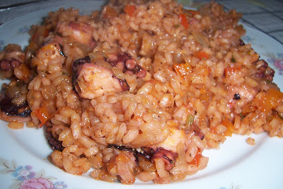 ARROZ CON PULPO