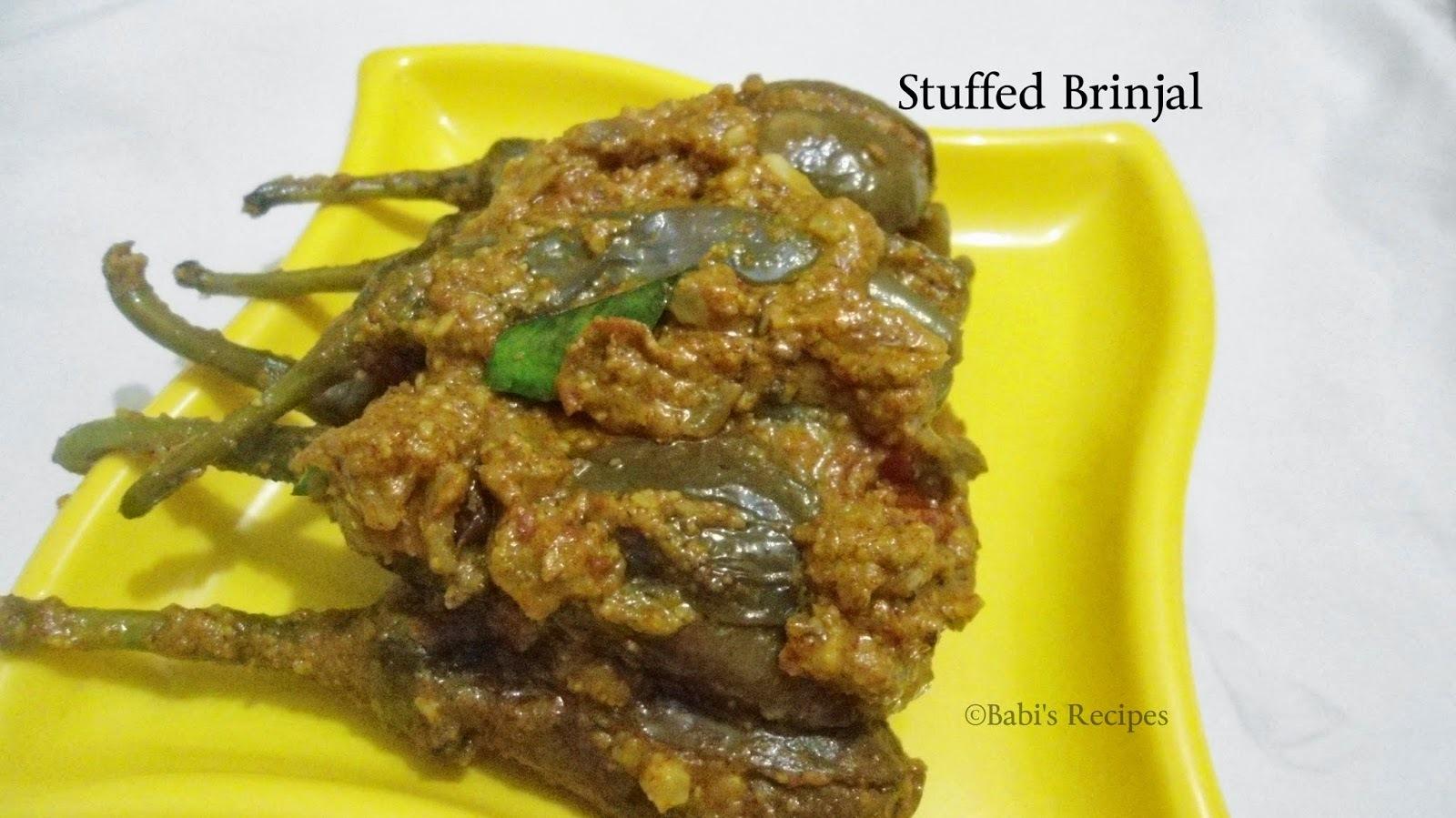 Stuffed Brinjal / Egg plant |  Bharli Vangi | Eggplant Recipe