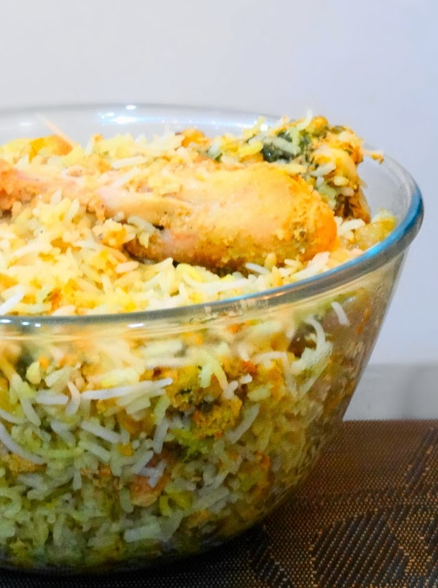 Homemade Hyderabadi Dum Biryani