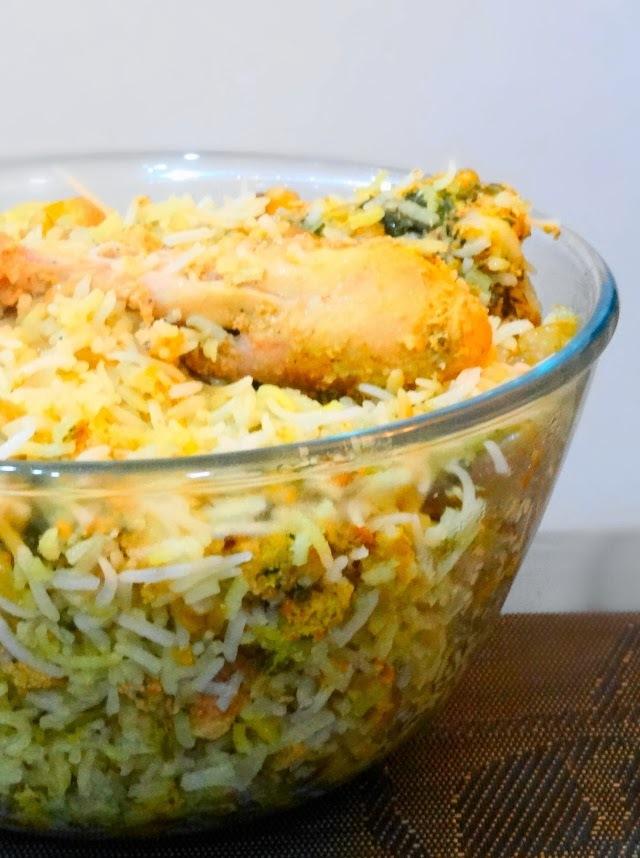 Homemade Hyderabadi Dum Biryani