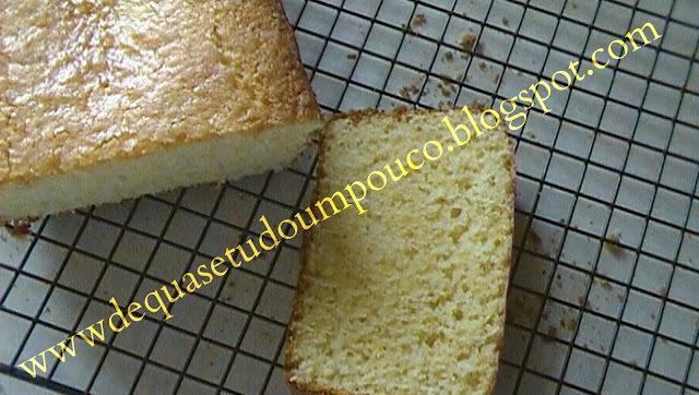 bolo de laranja com casca e calda crocante