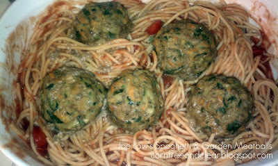 RECIPE of the WEEK, 6/15: SPAGHETTI & GARDEN MEATBALLS