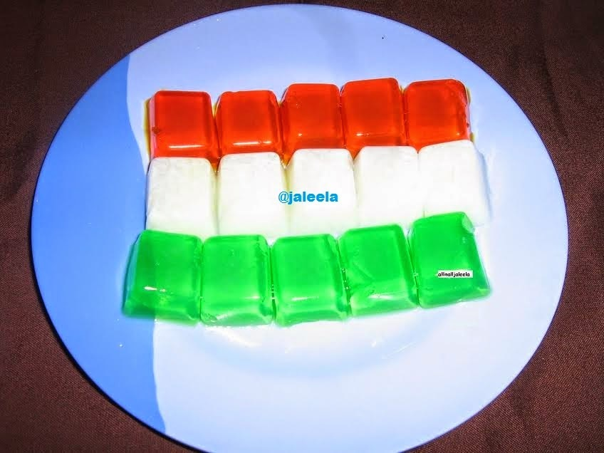 Indian Flag - Plain Agar Agar