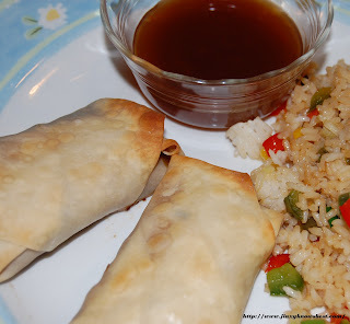 Easy Baked Egg Rolls Recipe with Homemade Sweet & Sour Sauce
