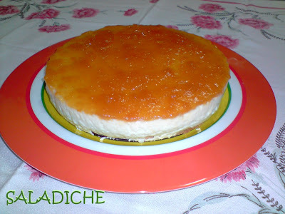 CHEESECAKE DE DAMASCO DIET